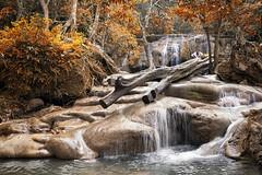 0503 Autumn Vision Of Erawan Waterfall