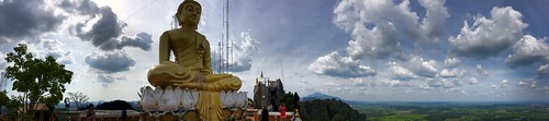 Tiger Cave Temple Mountain Panorama | by chillyistkult