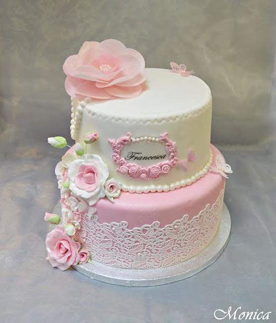 Cake by Monica Alazaroae of Heaven's Cakes