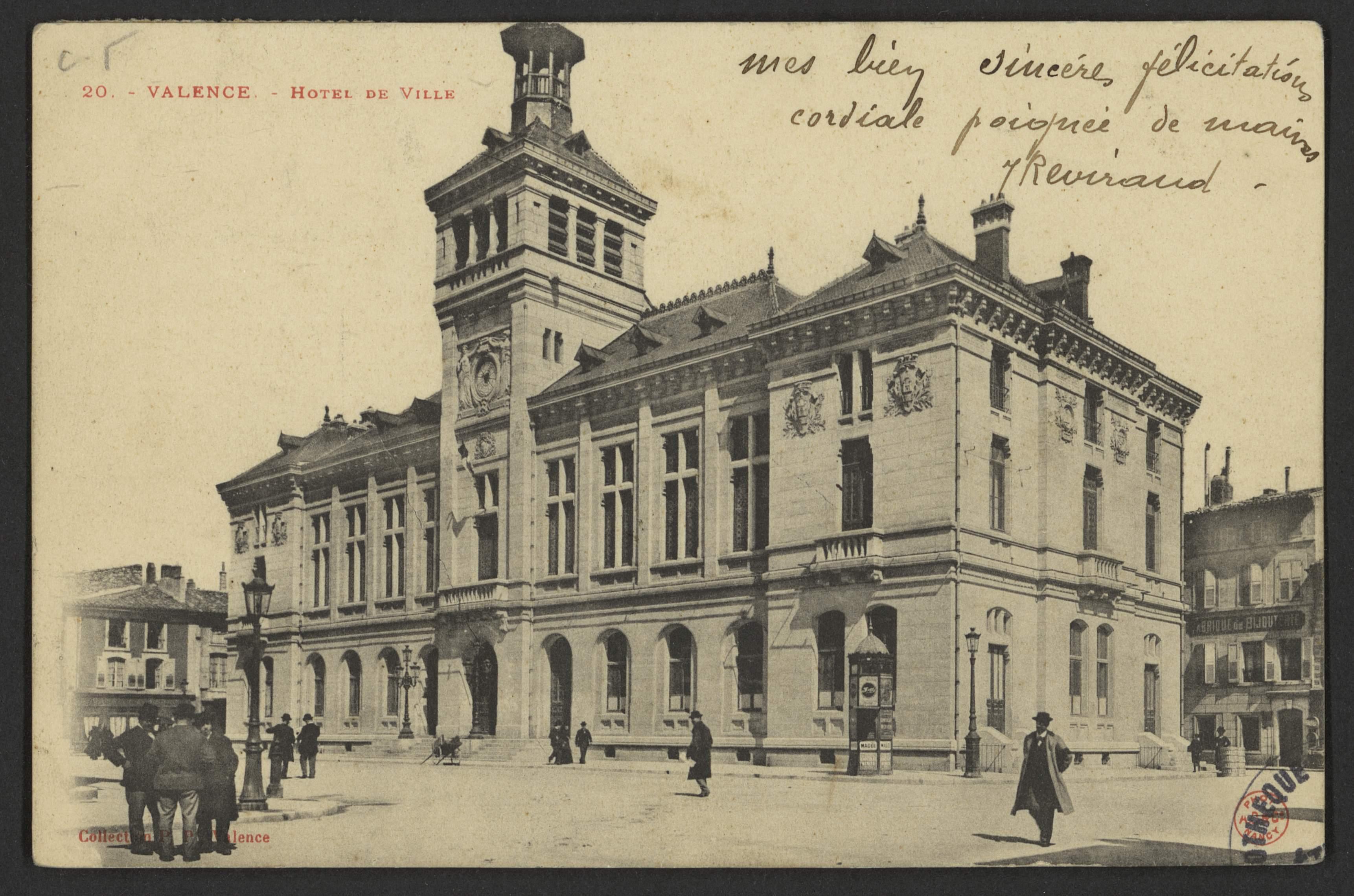 Valence. - Hôtel de Ville
