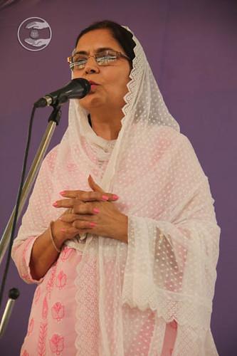 Anita Ajmani from Hari Nagar, expresses her views