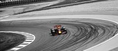 Max Verstappen at circuit de Catalunya in Barcelona