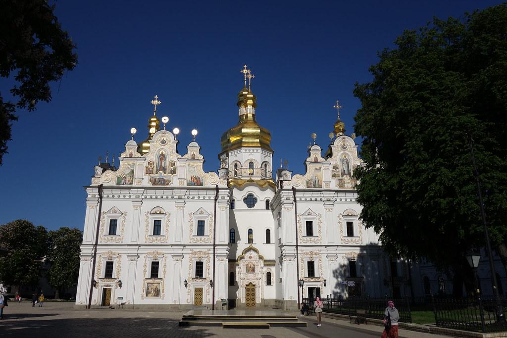 Cathédrale de la Dormition de la Laure des Grottes de Kiev