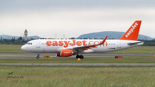 G-EZWW easyJet Airbus A320-214(WL)