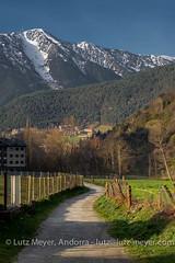 Andorra rural landscape: Ordino, Vall Nord, Andorra