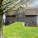 Beautiful Old Barn in an Orchard by sharilovell