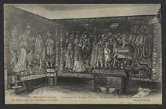 Grignan (Drôme) - Tapisserie de l'Ancien Prieuré - Mariage païen - Scène de Chevalerie