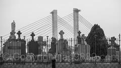 New Kosciuszko Bridge over Newtown Creek, Brooklyn-Queens, New York City
