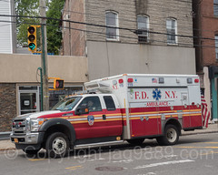 FDNY Ambulance, Port Richmond, Staten Island, New York City