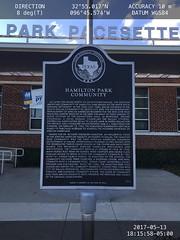 Hamilton Park Community location