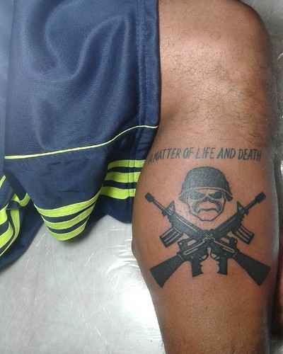 Primeira tattoo do bro