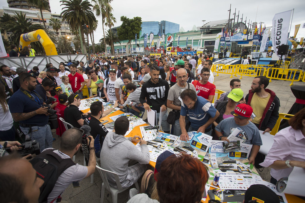 AMBIANCE during the 2017 European Rally Championship ERC Rally Islas Canarias, El Corte Inglés,  from May 4 to 6, at Las Palmas, Spain - Photo Gregory Lenormand / DPPI