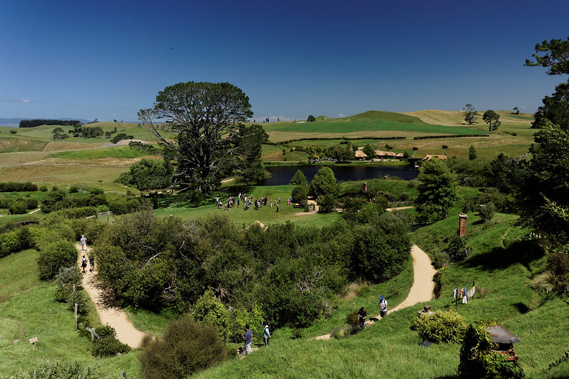 Panorama Hobbitonu