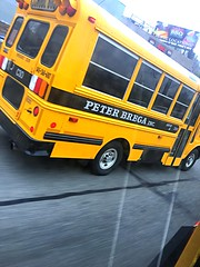 2011? Chevy Express 3500, With a Thomas Built Body, Peter Brega Inc. Bus#C30, Hydraulic Brakes, AC, and Radio.