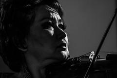 Aiman Mussakhayajeva, rehearsal, Festival Echos 2017