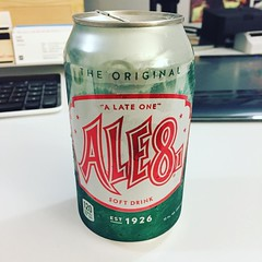 Missed the horse race this weekend but getting some authentic Kentucky culture all the same. Thanks @ktfenton11 for the care package! #kentuckyderby #kentucky #ale81soda #gingerale