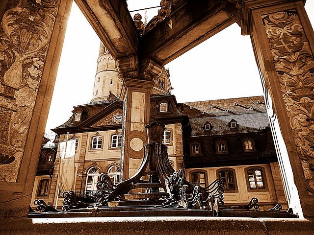 Mainz. Marktbrunnen. Fragment., Nikon COOLPIX S9500