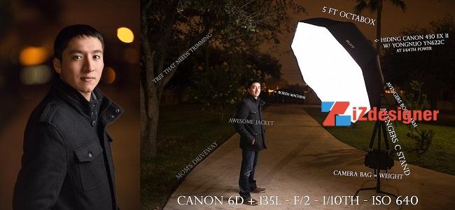 Nhiếp ảnh gia Francisco Hernandez chia sẻ bí quyết chụp ảnh chân dung vào buổi tối với đèn flash rời