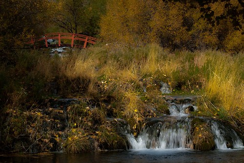 landscape water nature river travel fall waterfall stream outdoors scenic utah