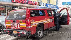 FDNY EMS Vehicle, University Heights, New York City