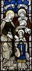 St Anne and St Joachim with the Blessed Virgin (AK Nicholson)