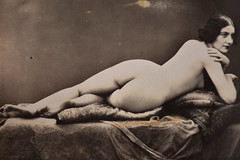 Past Times - old erotic art picture from 1921
