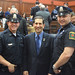 Rep. Doug Dubitsky and members from the Norwich Police Department during National Peace Officers Week. 5.16.17