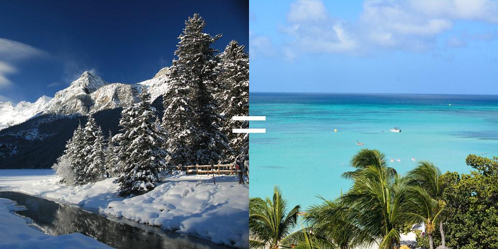 Aruba and Alberta combined