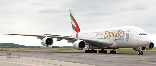 A6-EDX Emirates A388