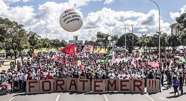 Protesto nesta quarta-feira (24) reuniu 200 mil na capital federal - Créditos: Mídia Ninja