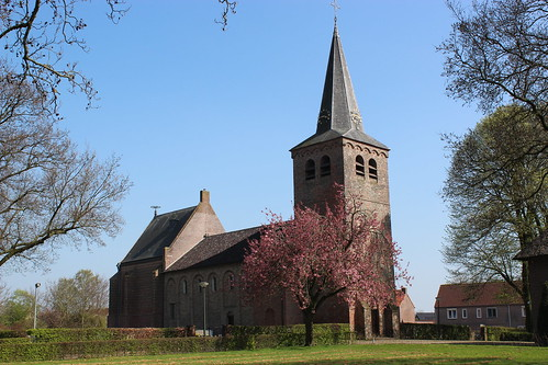 Dutch Reformed church (12th century) in the small village of Eethen.