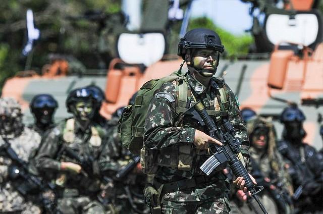 Exército brasileiro nega que a operação conjunta com EUA e países da região sirva como embrião para uma base multinacional na Amazônia - Créditos: Sd Rafael/Exército Brasileiro