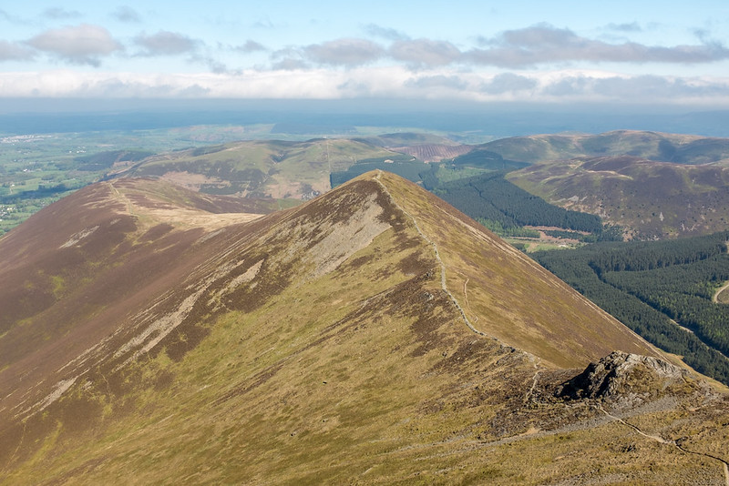 North from Hopegill Head