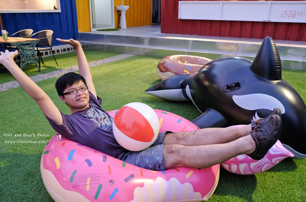 逢甲迷路MiLu菜單氣球泳圈親子餐廳10