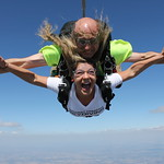 Tandem Student Taylor Having The Time Of Her Life With Instructor!!!!