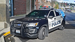 Bothell Police Department 2016 Ford Police Interceptor Utility SUV