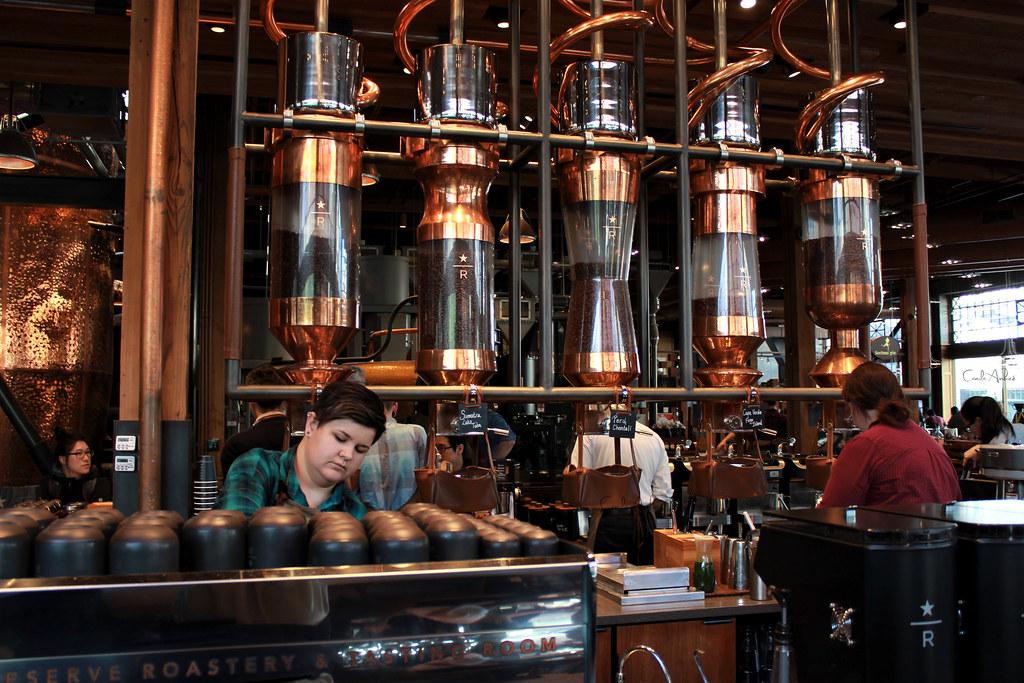 Starbucks Reserve Roaster and Tasting Room