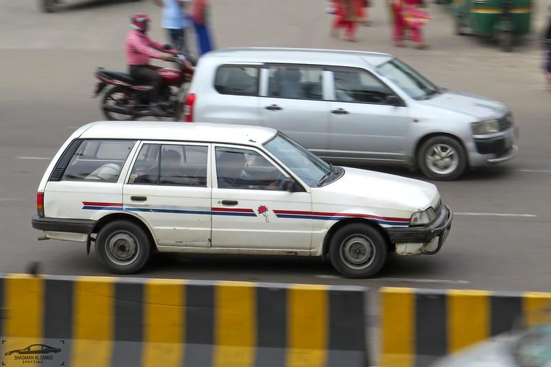 Mazda Familia station wagon, Bangladesh.