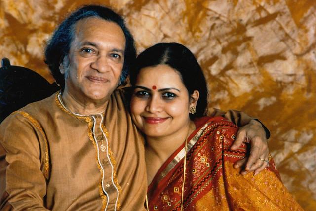 Ravi Shankar and wife Sukanya Rajan © Ravi Shankar