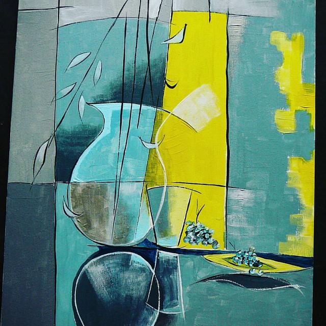 Still life #artcontemporain #razafin #tomatin #abstractart