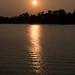 Coucher de soleil sur la rivière des parfums