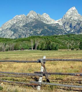 Grand Teton Ranch Fence, Wy 2011,