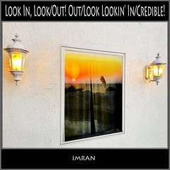 Look In, Look/Out! Out/Look Lookin' In/Credible! - IMRAN™