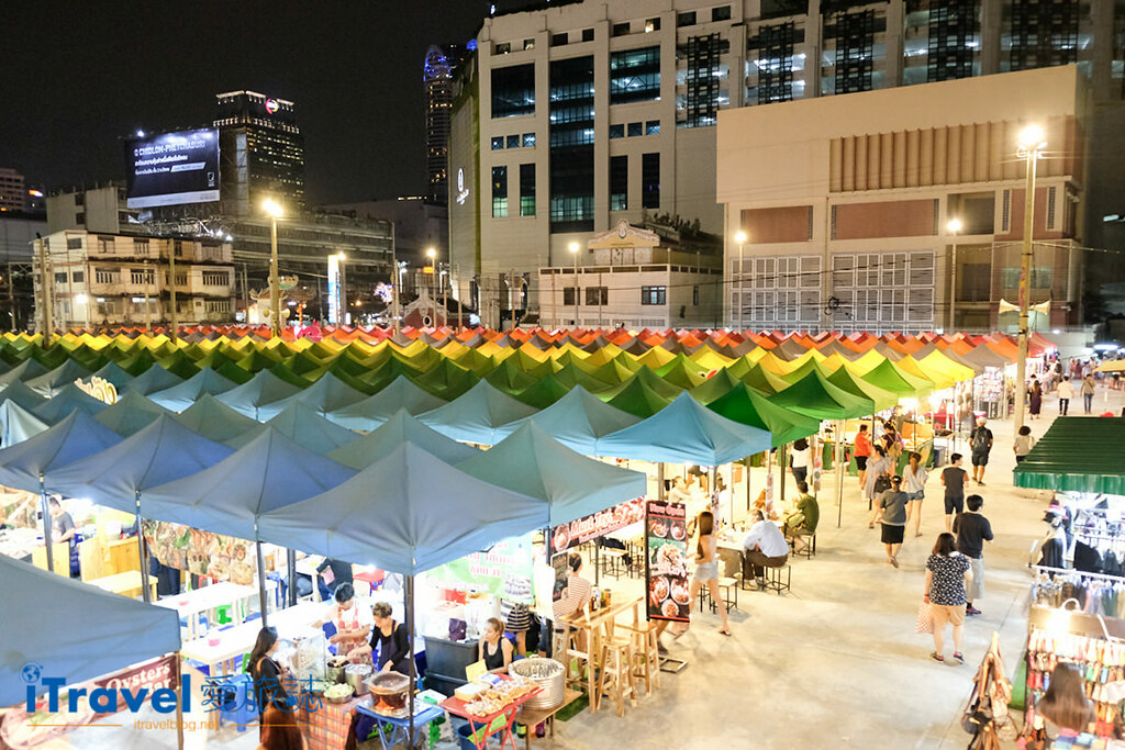 曼谷城中霓虹夜市 Talad Neon Downtown Night Market (1)