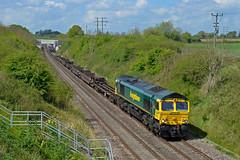 66572 at Alderton on 2nd May 17'