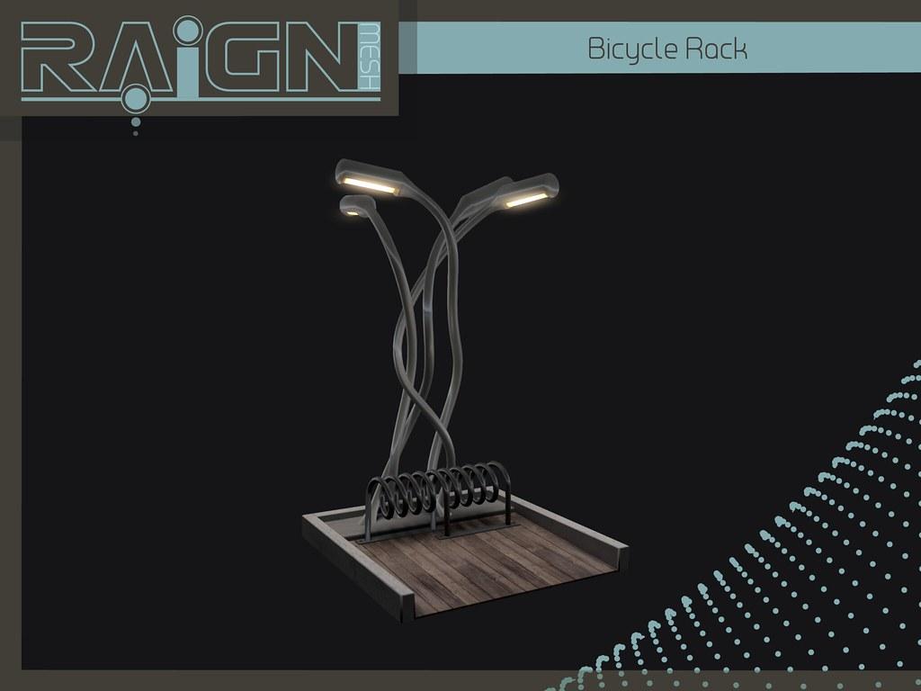 Bicycle Rack - SecondLifeHub.com