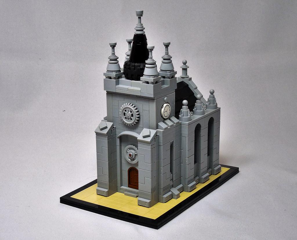 The Wicked Zoot Abbey (custom built Lego model)