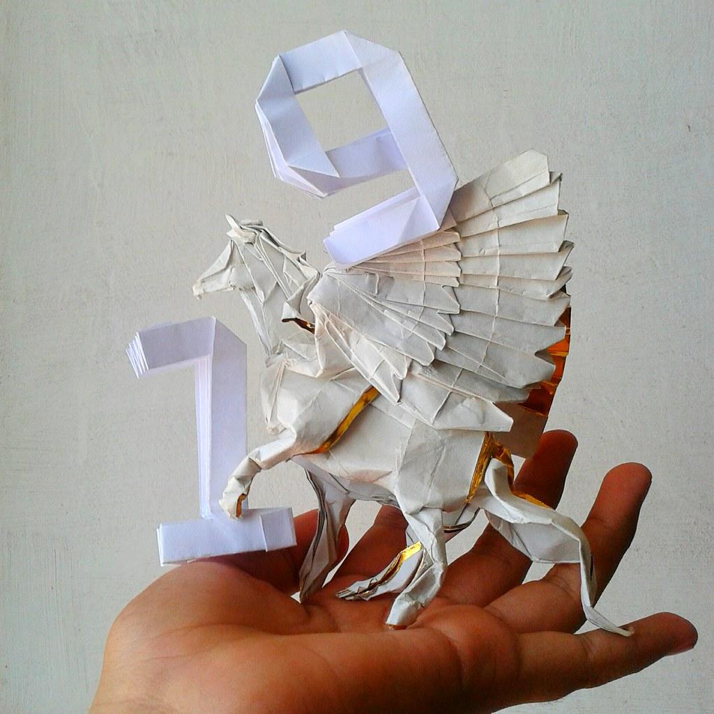 Pegaso b3 satoshi kamiya by javier vivanco origami july 2017 pegaso b3 satoshi kamiya by javier vivanco origami jeuxipadfo Image collections