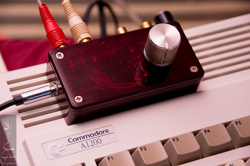 Amiga audio separation project