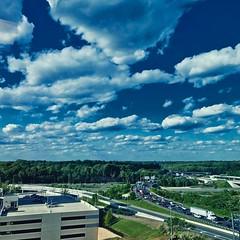 #traffic #jam #clouds
